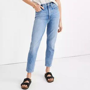 MADEWELL NEW Mom Jean in Melva Wash